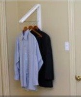 laundry room collapsible hanger
