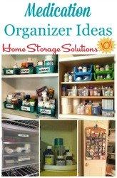 Medication Organizer Ideas