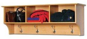 mudroom shelf with hooks