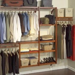 closet shelving system
