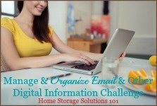 Manage & Organize Email & Other Digital Information Challenge