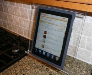 kitchen iPad stand