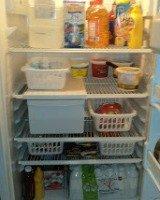 inside refrigertor