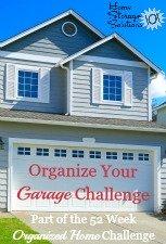 Organize Your Garage Challenge