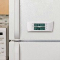 refrigerator and freezer alarm