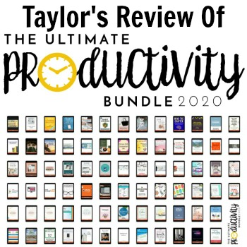 Taylor's review of the Ultimate Productivity Bundle
