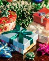 put away Christmas presents