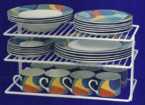 Gain More E In Your Cabinets By Using Shelf Organizers For Dishes Purchase On