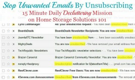 stop unwanted emails by unsubscribing