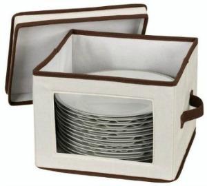 dinner plate storage chest