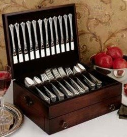 Store Silverware In A Flatware Chest [Click Here To Purchase On Amazon]