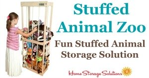 Stuffed animal zoo