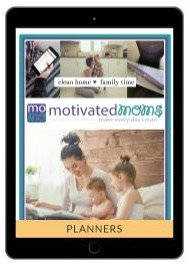 Motivated Mom Classic Planner