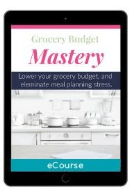 Grocery Budget Mastery