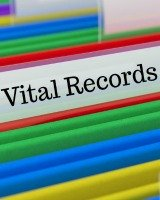 vital records and important documents