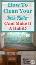 How To Clean Your Desk Clutter