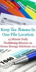 Guidelines For Keeping Tax Records