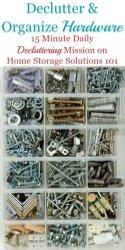 Declutter & Organize Hardware