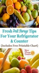 Fresh Fruit Storage Tips