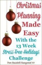 Stress Free Holidays Challenge