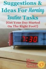 Fill Out Morning Routine Chart
