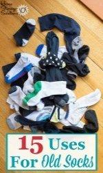 15 Uses For Old Socks