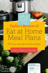 Taylor's Review Of Eat At Home Meal Plans