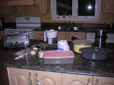 cooking tools and small appliances