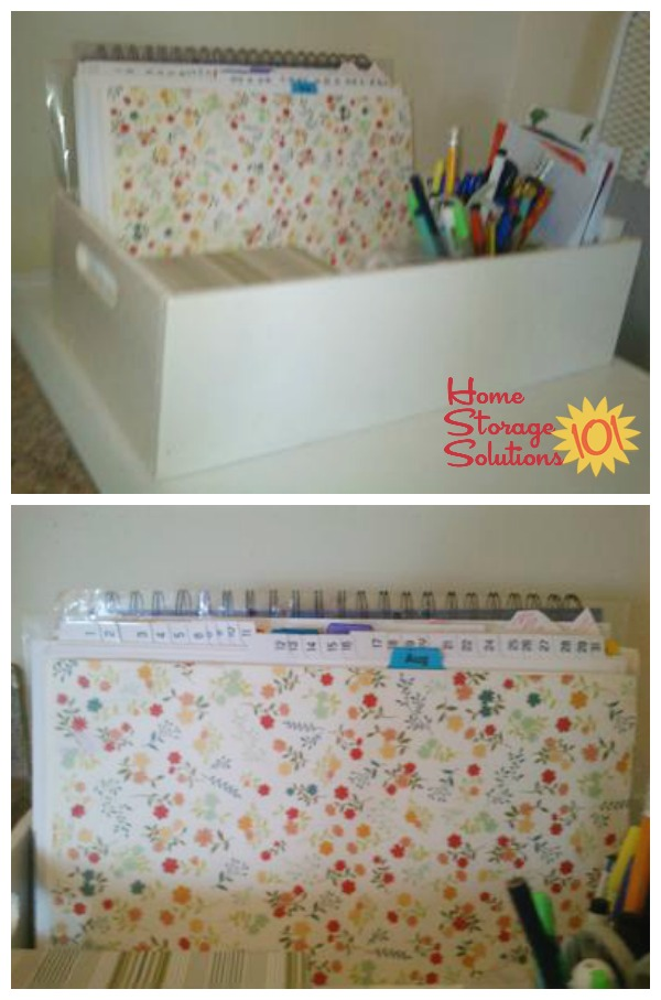 Tickler file made by a reader, Kath {featured on Home Storage Solutions 101}