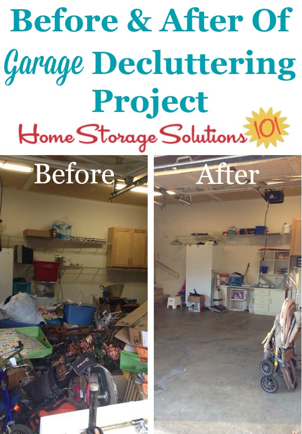 How To Declutter Your Garage {Without Making A Bigger Mess