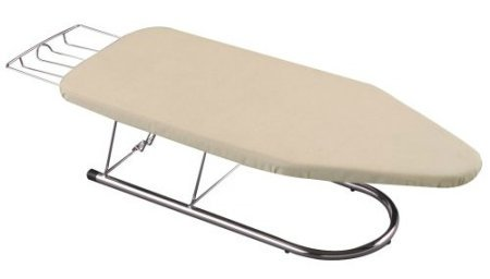 Household Essentials Tabletop Mini Ironing Board is a great alternative to a large board if you don't do a lot of ironing, but only do some rather infrequently {featured on Home Storage Solutions 101}