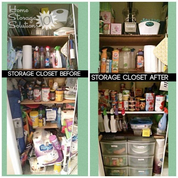 Declutter Storage Room Or Storage Closet {Mission}