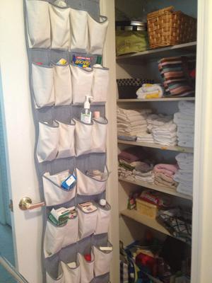 Another Way To Storage And Organize These Supplies On Your Door Is To Use  An Over The Door Shoe Organizer, Or Its Smaller Cousin, The Over The Door  Jewelry ...
