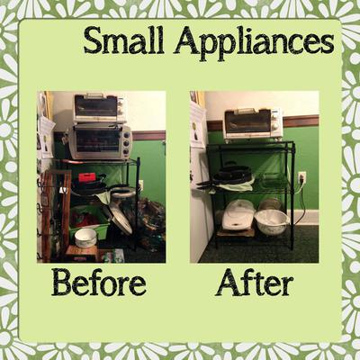 How To Declutter Small Appliances
