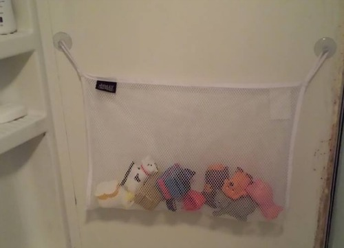 Jolly Jumper bath toy bag