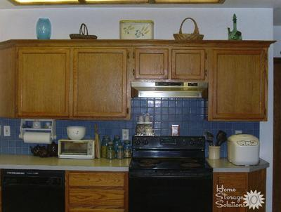 Decorating Above Kitchen Cabinets: Ideas & Tips on