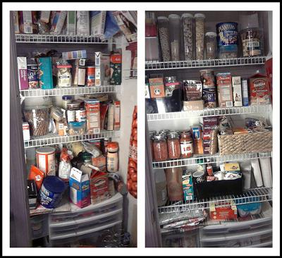 How To Organize Food Pantry