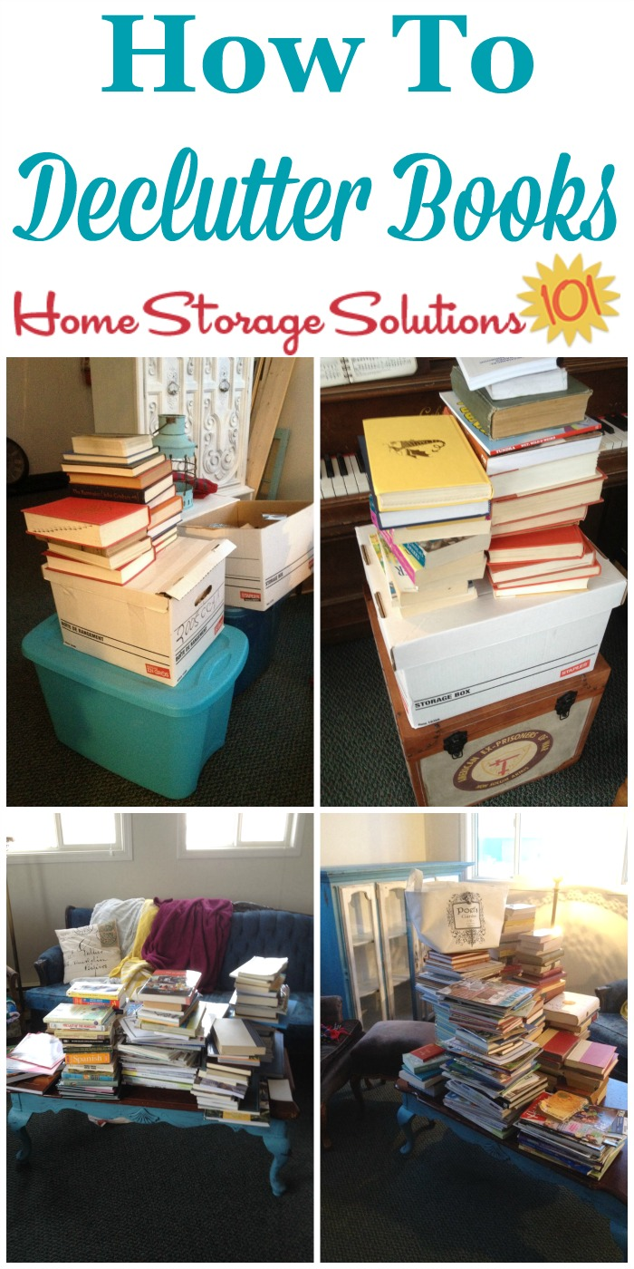 How to get rid of book clutter for How to get rid of clutter