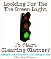 7 Strategies For Clearing Clutter