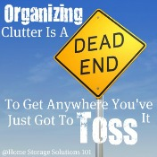 Is Clutter Organization Possible? Is There A Better Way?
