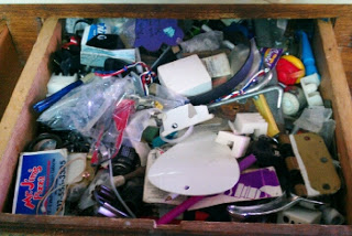 Before - 1st drawer