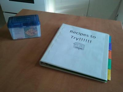 Creating A Recipe System For Tried And True Recipes Those To Try