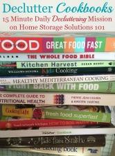 Declutter Cookbooks