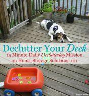 Declutter Your Deck