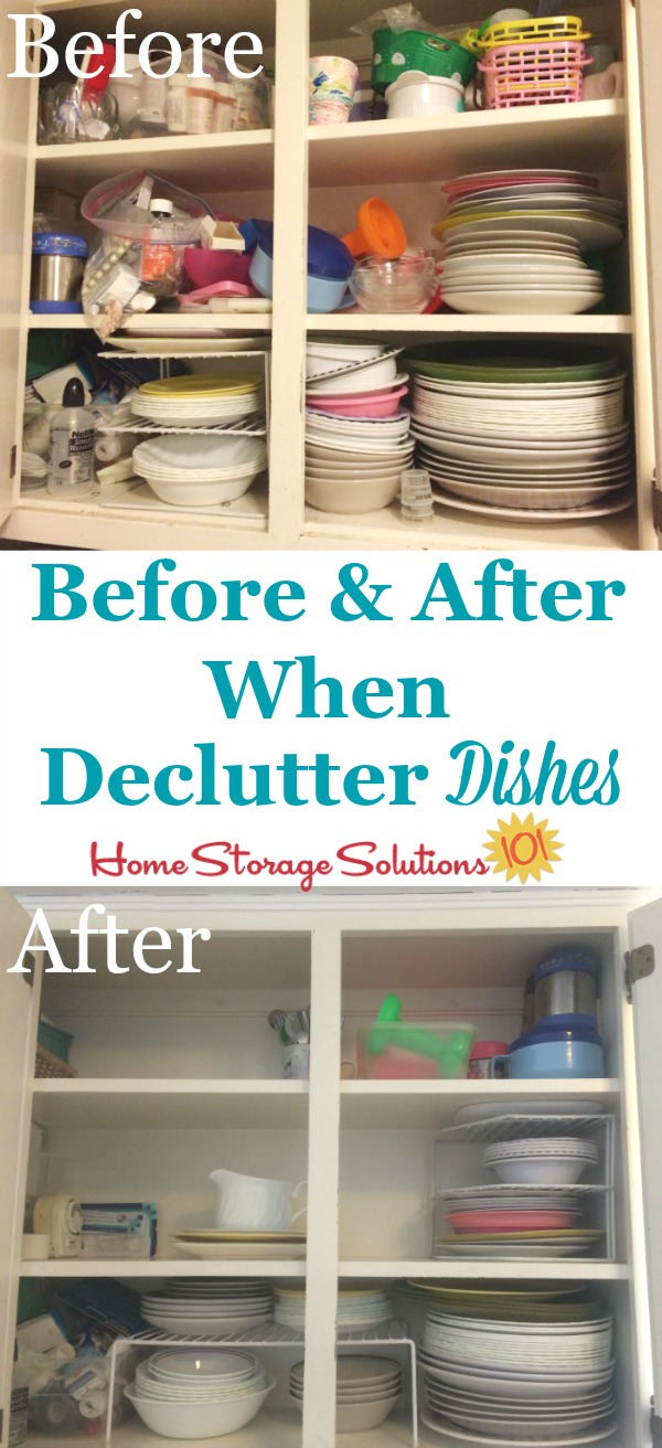 How To Declutter Dishes