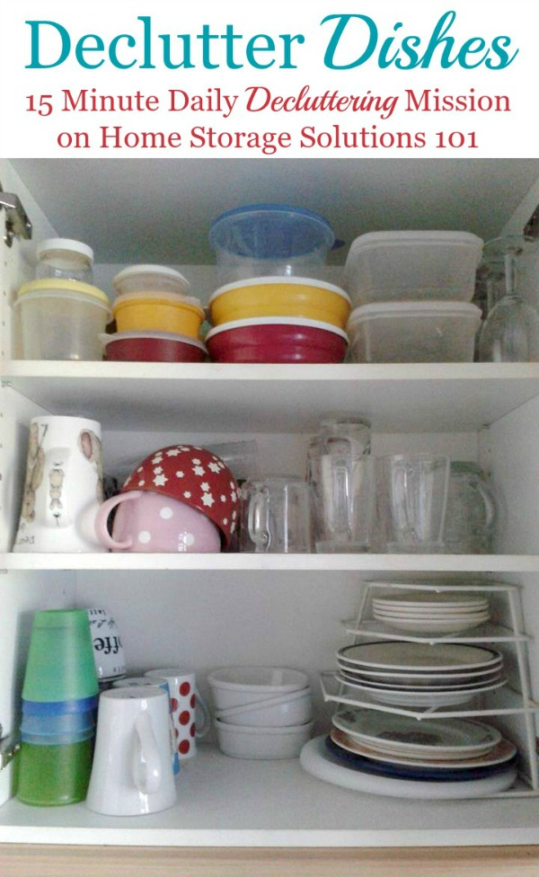 How Many Sets Of Dishes Should I Keep?