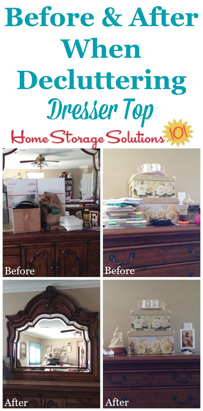 How To Declutter Your Dresser Top