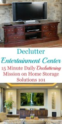 Declutter Your Entertainment Center