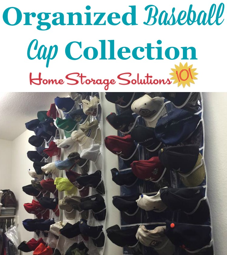 After you get rid of your hat clutter you'll be able to get the rest of your hats organized to wear and enjoy! {featured on Home Storage Solutions 101}