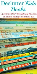 Declutter Kids Books